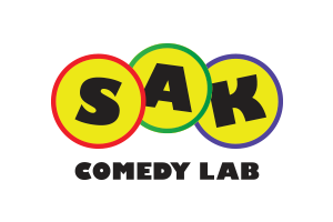 sak comedy lab logo