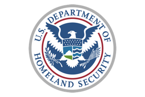 US Dept of Homeland Security logo