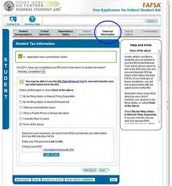 Irs Data Retrieval Tool How To Apply Financial Aid Rollins