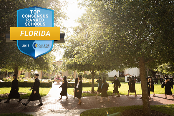 Rollins Ranked No. 1 College in Florida