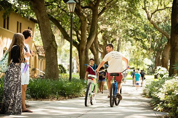 rollins college bike program