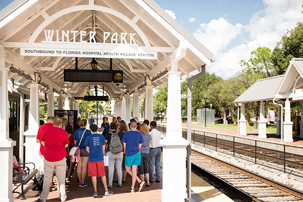 sunrail train rollins college