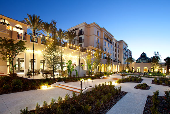 Pure luxury located just steps away from campus, The Alfond Inn is the perfect place to stay while you visit Rollins College.Thank you in advance! Net profits from the hotel's operations go to an endowment dedicated to student scholarships.