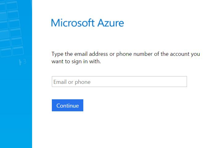 type in your email address your account may be listed on this page if you have already logged into office 365 on this computer in that case please select