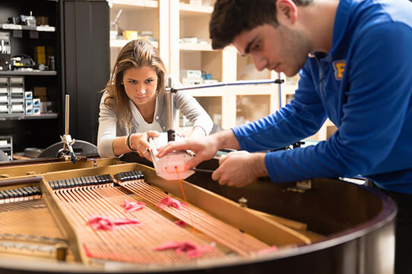 Acoustics | Research | Department of Physics | Rollins